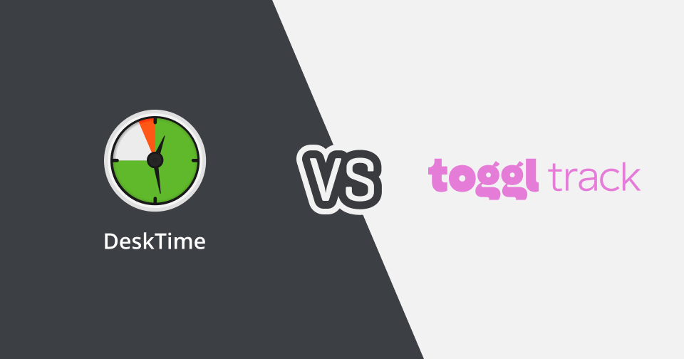 Compare DeskTime and Toggl side by side and choose the time tracking app that fits your needs.