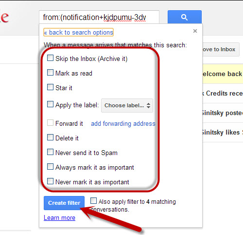 how to search archive in gmail