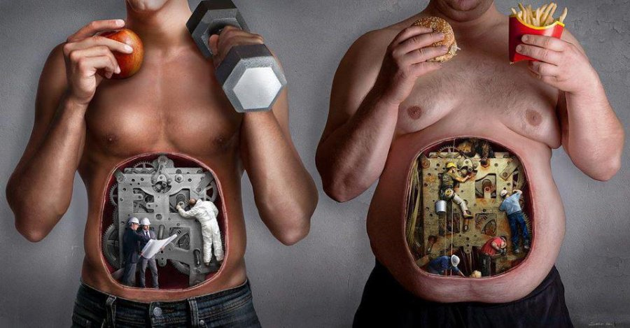 Your body will work so much more effectively when it's fueled properly
