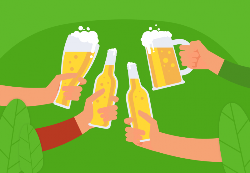 How beer affects productivity