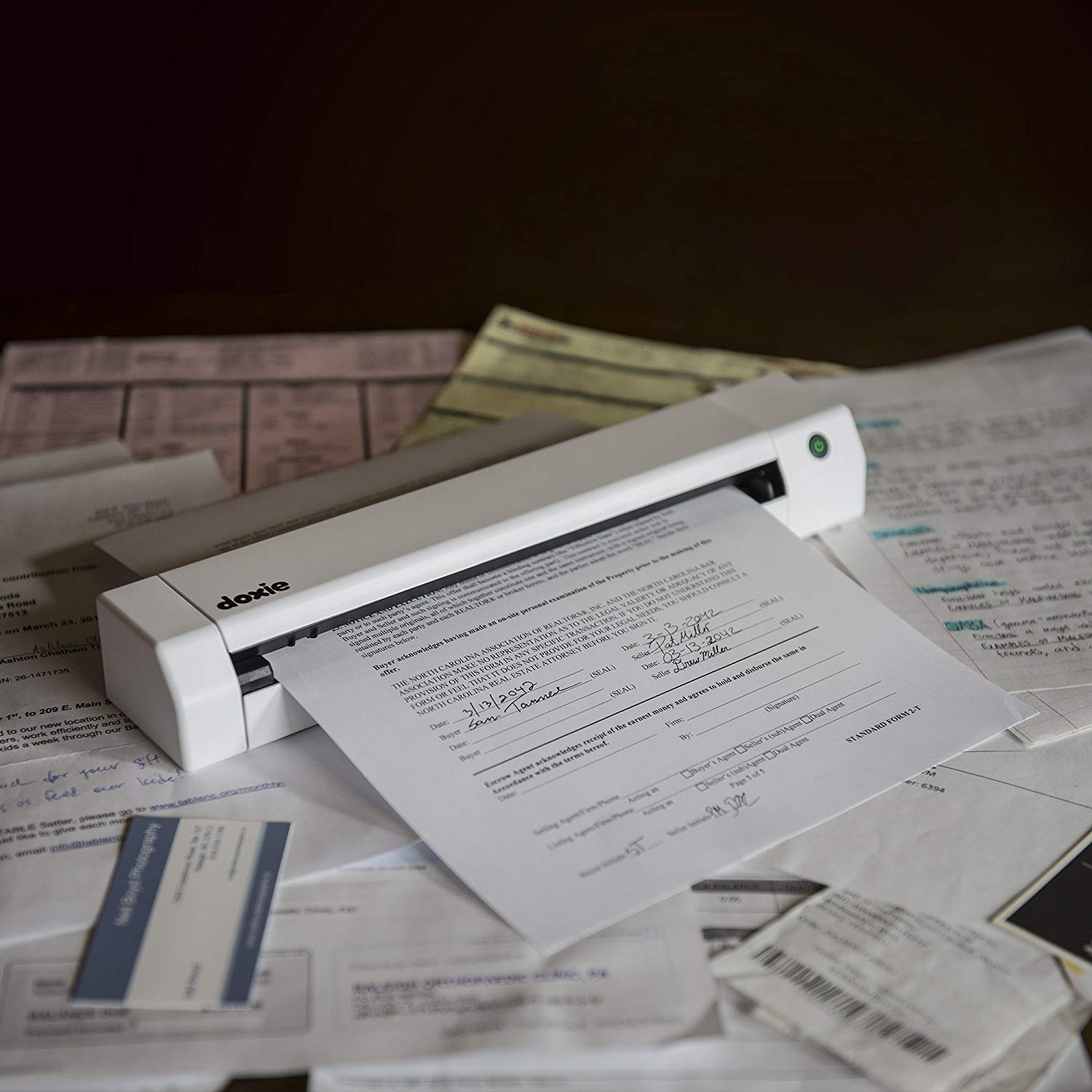 Doxie Go SE - Portable A4 Document Scanner