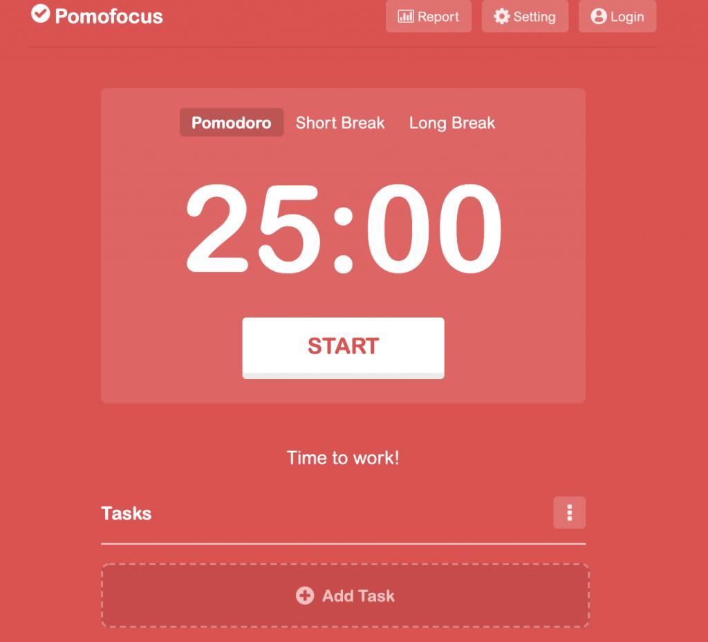 Pomofocus app