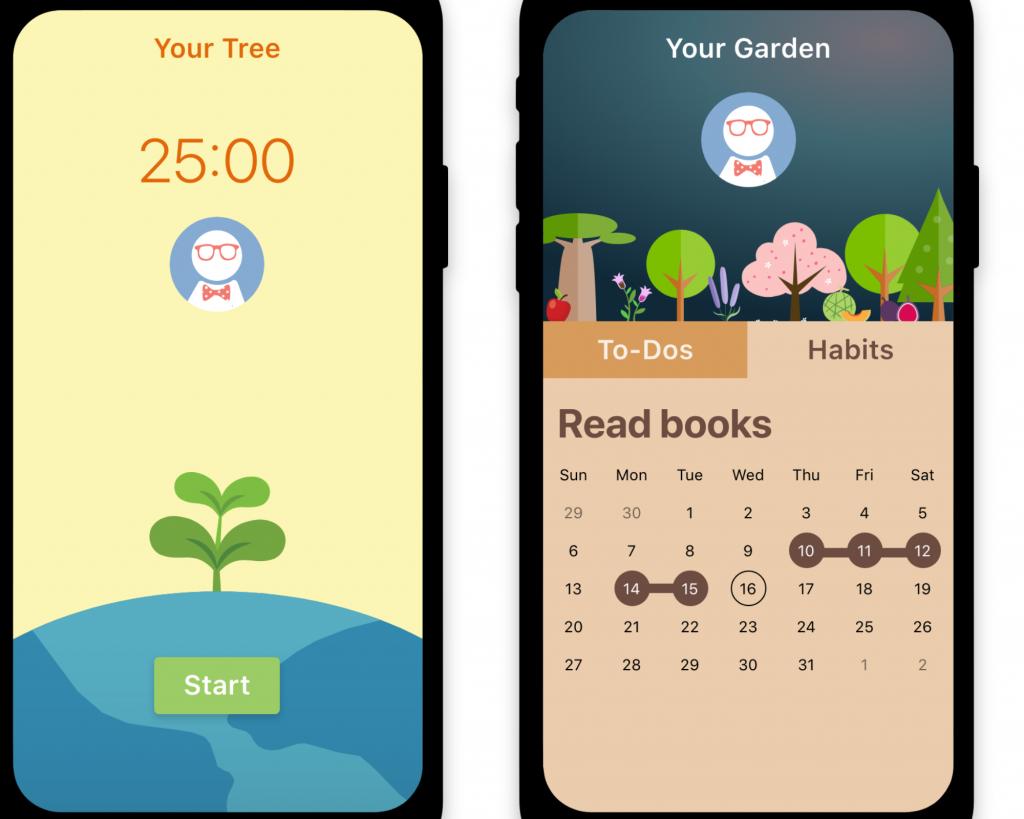 Flora — focus app that grows virtual plants
