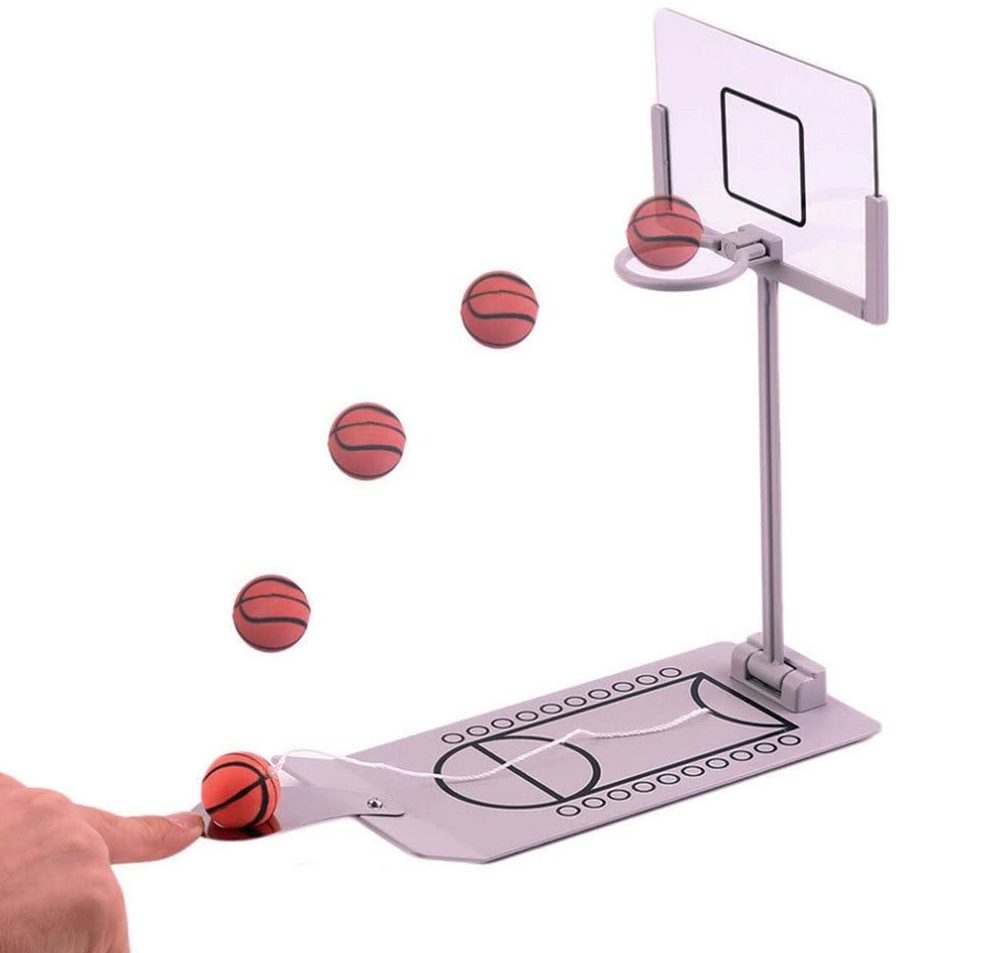 A picture of desktop basketball